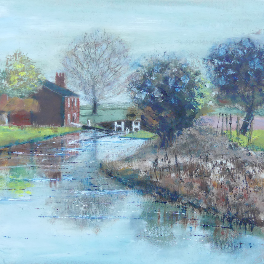 Kings Sutton Lock on Oxford Canal