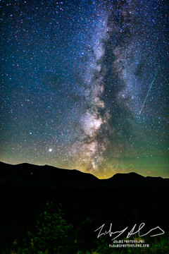 White Mountains Milky Way