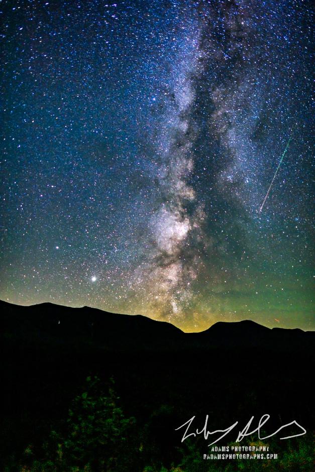 White Mountains Milky Way