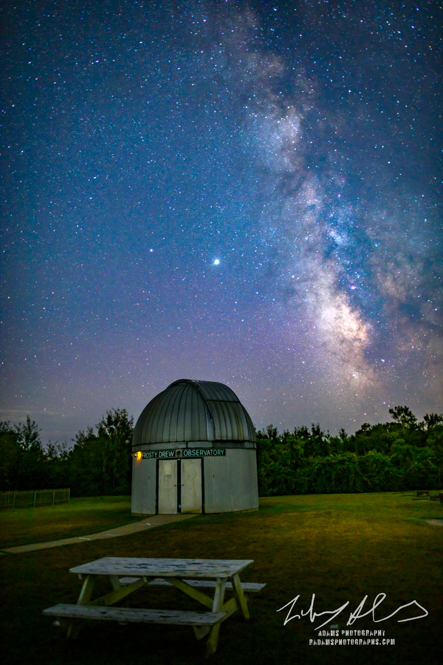 Observing the Milky Way - Ninigret Park,