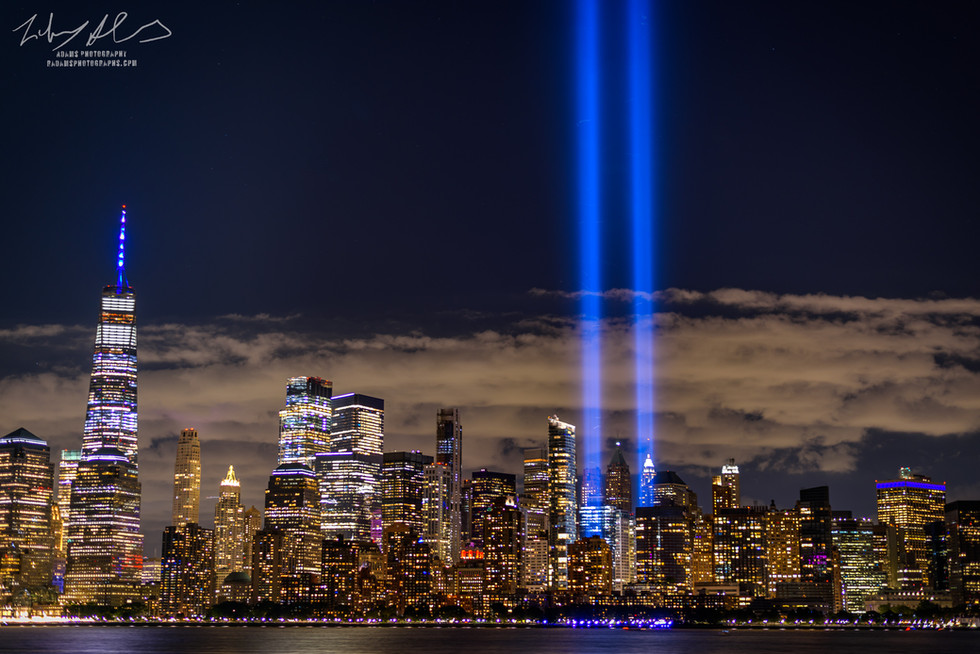 Liberty State Park Tribute in Light
