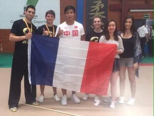 Juliette Vauchez et Benoit Denolle au championnat du monde de KUNG-FU !!