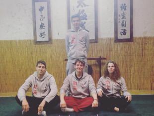 Moisson de médailles d'or au championnats de France de kung-fu !!