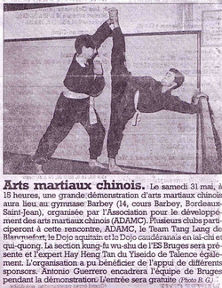 1997 arts martiaux