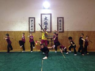 Quelques photos du stage de kung-fu du mois de février !!