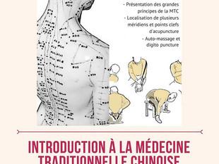 Introduction à la médecine traditionnelle chinoise le 19 septembre !