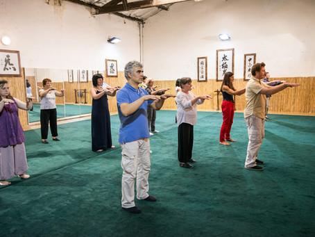 Séances d'initiation au TAI CHI CHUAN tout le mois de juin !!