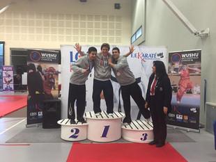 Les compétitions de kung-fu du 3e trimestre