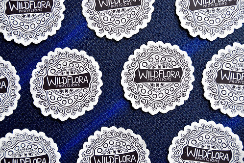WildFlora Sticker
