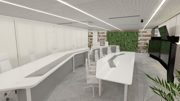 New Norm: Collaborative Video Conference Room