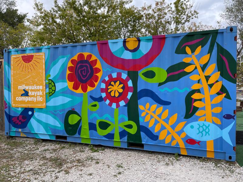 Milwaukee Kayak Company Mural