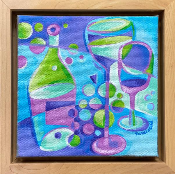 Glasses & Grapes