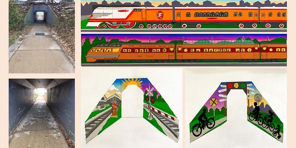 Courtney Bella Mural Project/Oconomowoc Schools Artist In Residence (1)