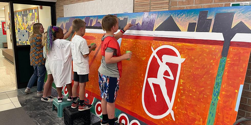 Collaborative Public Mural Installation