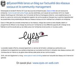 Eyes on Web - Pôle Documentation