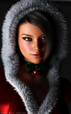 Nikki Christmas 3