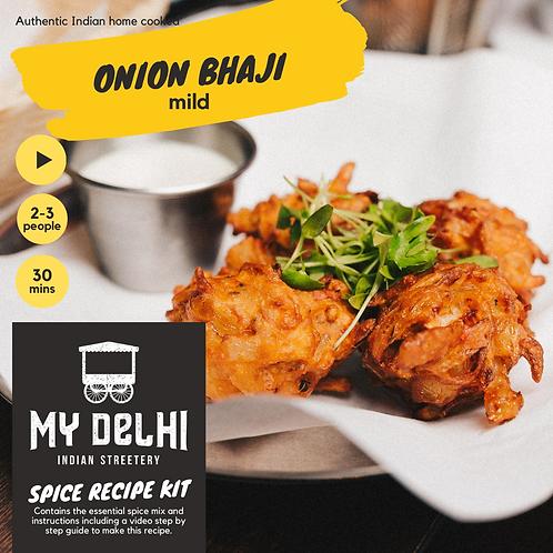 Onion Bhaji + Mint Raitha Recipe Kit