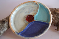 Abteilungsteller TiSaTo Mond-Keramik, Ch