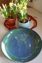 blaue Schale TiSaTo Mond - Keramik, Chri