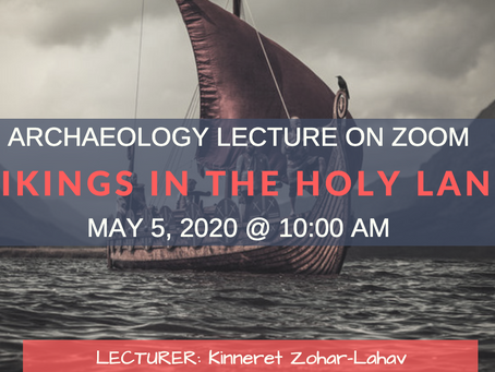 📣 Zoom Lecture on Vikings in the Holy Land