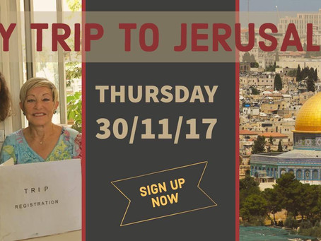 IWC Archaeology is Heading to Jerusalem!