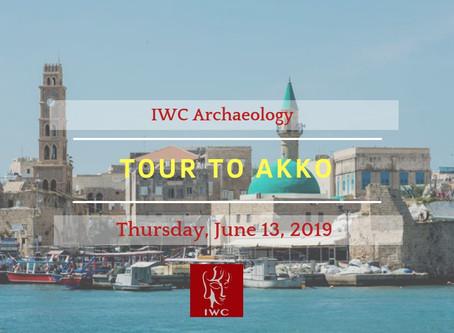 IWC ARCHAEOLOGY - TOUR TO AKKO