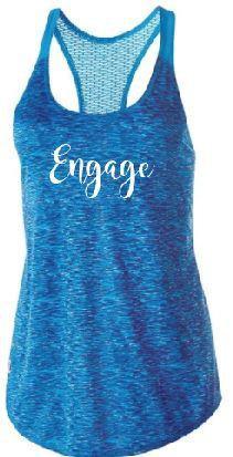 Engage Ladies Dye Tank