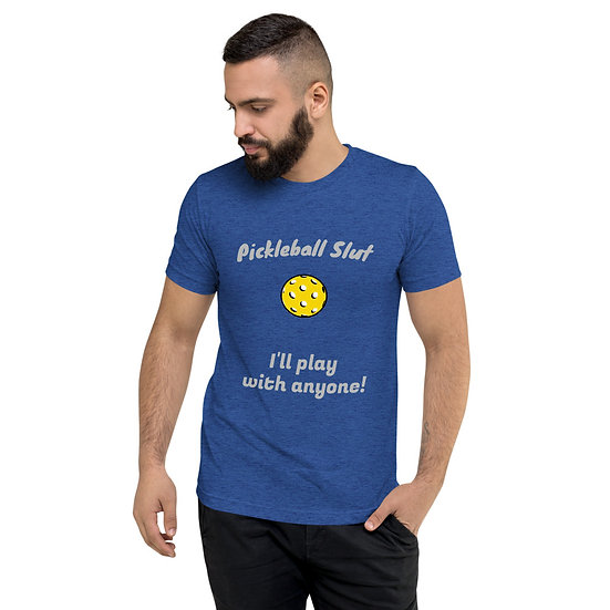 'Pickleball Slut' Men's Pickleball T-shirt