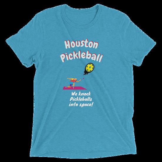 'Houston Pickleball' Men's Pickleball T-shirt
