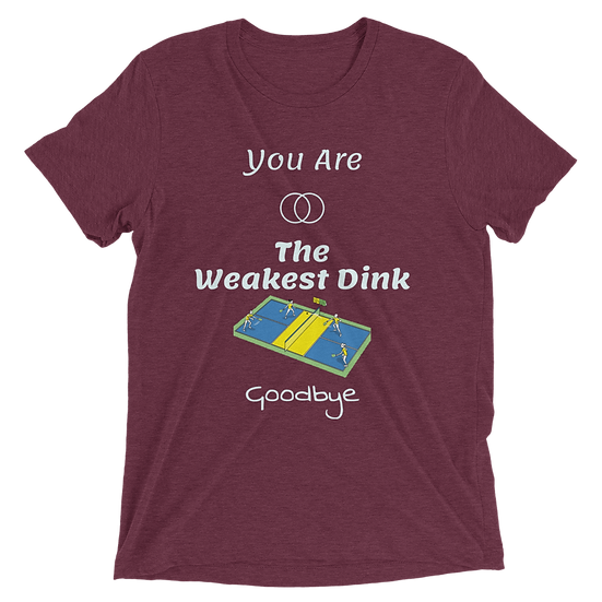 'You are the Weakest Dink' Men's Pickleball T-shirt