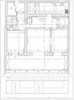 Privatiser un jardin à paris. Plan métré détaillé du Jardin des bauches