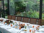 Petit déjeuner de presse au Jardin des bauches