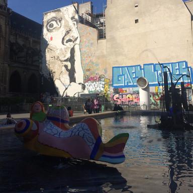 史特汶司機噴泉 La fontaine Stravinsky