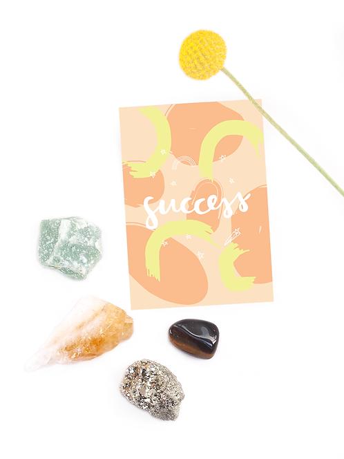 Success Crystal Set – kivisetti