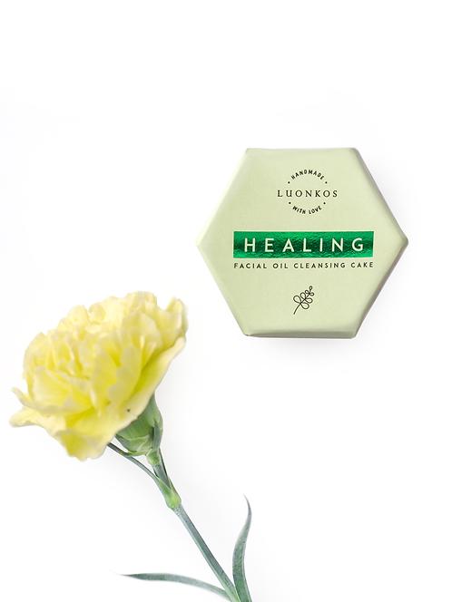 Healing – Moringa – puhdistuskakku rasvaiselle iholle