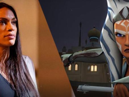 From Sketch To Live-Action: Rosario Dawson As Ahsoka Tano
