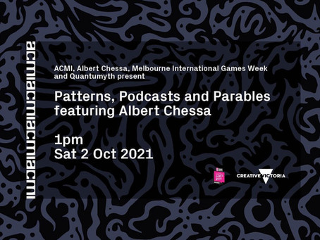 Patterns, Podcasts and Parables: Evolving Humanity Through Interactive Art