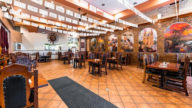 Main Dining Area Garcia's Restaurant