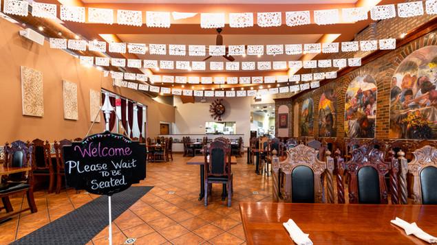 Main Dining Area Garcia's Restuarant