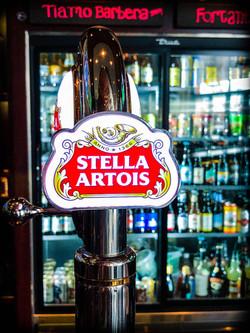 Crawford's Interior Stella tap
