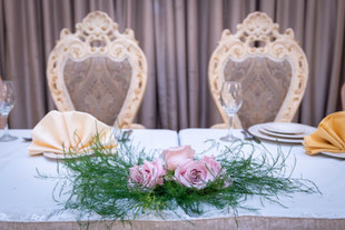 Bride & Groom Head Table