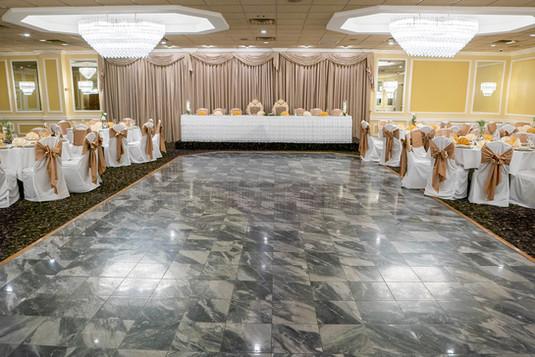 La Villa Banquet Hall Dance Floor