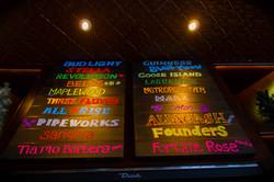 Crawford's Beer Board