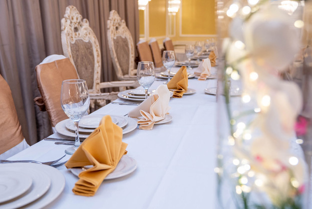 Head Table at a Wedding