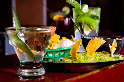 Cocktails and Guacamole