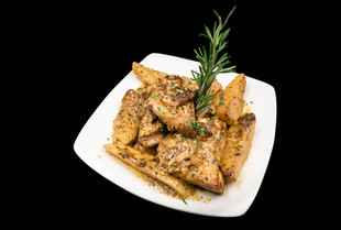 Bone-In Chicken Vesuvio