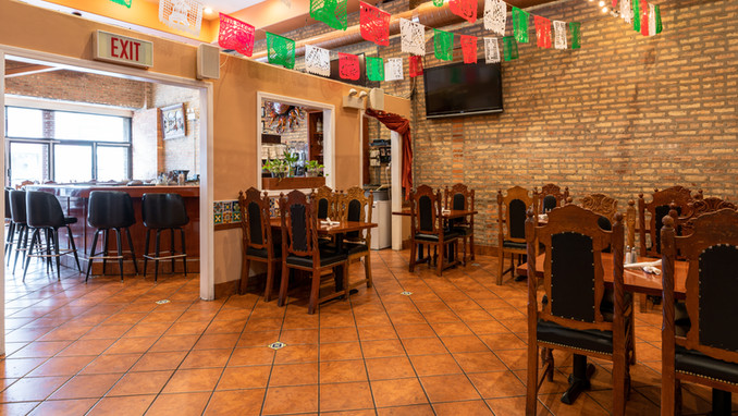 Small Intimate Dining Area at Garcia's Restaurant