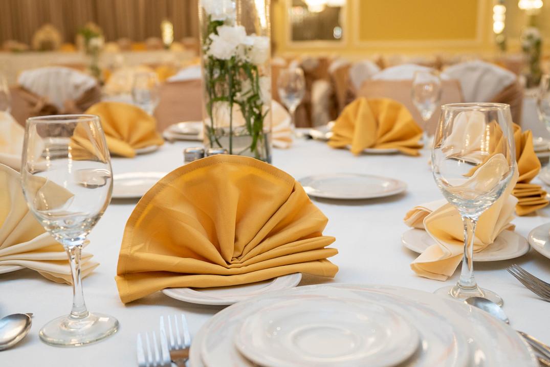 La Villa Banquet Hall Center Piece