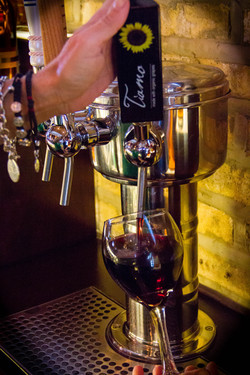 Red Wine on Tap