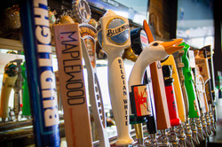 Crawford's Beers on tap